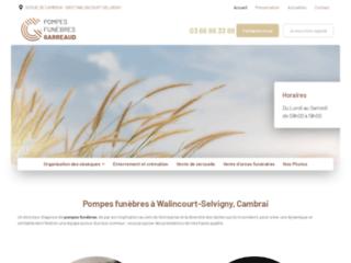 Organisation des obsèques à Cambrai