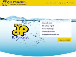 Daniel Poncelet, au cœur de l'assainissement