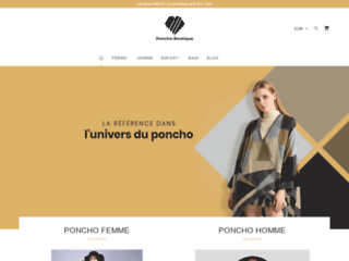 Détails : Poncho Boutique : des ponchos tendance pour tous