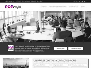 Agence digitale Paris | Poptrafic