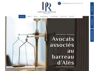 Cabinet d'avocats Porcara Racaud - Alès