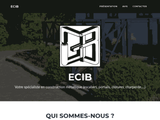 ECIB, entreprise de construction métallique