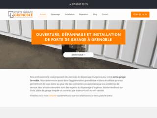 Artisans-serruriers pour porte garage à Grenoble
