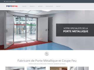 Détails : Porte métalliques