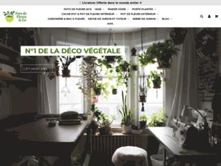 Détails : Pots de Fleurs & Co, décoration pour plante