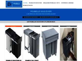 Poubelle sous évier, le site référence pour poubelles de cuisine