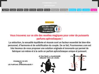 Parfum aphrodisiaque I Pourmonmec.com