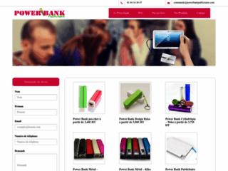 Le Power bank publicitaire un moyen nouveau et efficace de faire connaitre son entreprise