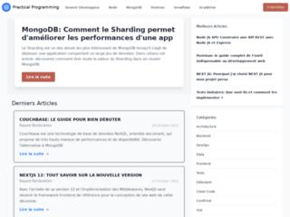 Practical Programming, un média pour les Développeurs Web