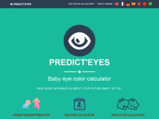 Calculateur couleur des yeux de votre bébé