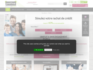 Détails : Préfina, l'expert Français du rachat de prêt immobilier