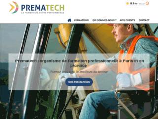 Prematech - organisme de formation professionnelle