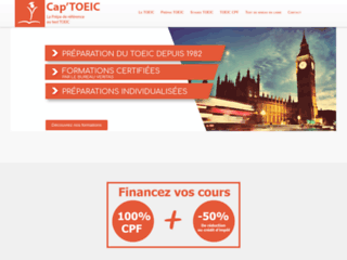 Cap'TOEIC - prépa de référence au TOEIC
