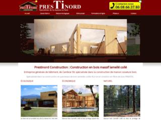 Construction : Prestinord à Neuville Saint Rémy 59