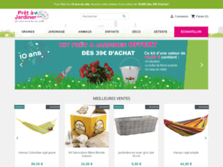 Jardinerie en ligne Prêt à Jardiner: Achat de plantes pas cher