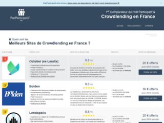 Détails : Comparateur de prêt participatif en ligne
