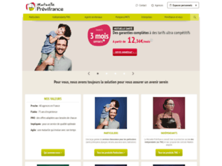 Détails : Votre mutuelle santé : Prévifrance