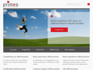 Referencement Internet Blog Primeo