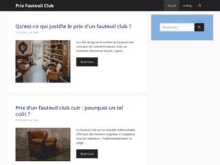 Prix Fauteuil Club - Tout savoir sur les prix des fauteuils club