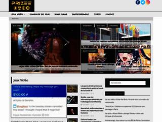 Détails : Prizee : des jeux flash pour se distraire