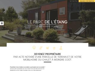 Parc de l'Etang Parc Résidentiel de Loisirs
