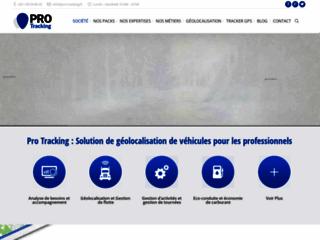 Pro-Tracking La géolocalisation pour les professionnels