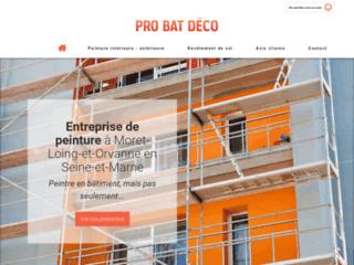 Pro Bat Deco - entreprise de peinture près de Fontainebleau