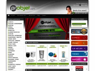 Détails : Probjet, cadeaux d'affaires et objets pub