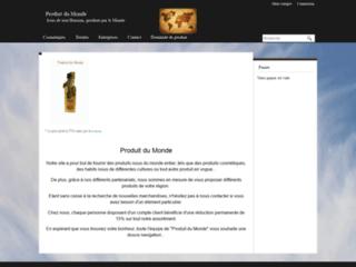 Détails : Vente d'articles traditionnels marocains et thaïlandais