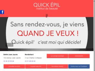 Détails : Quick epil proepil instituts de beauté à Belfort et Montbéliard
