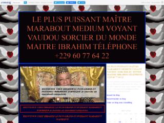 LE PLUS PUISSANT MAÎTRE MARABOUT MEDIUM VOYANT VAUDOU SORCIER DU MONDE MAITRE IBRAHIM TÉLÉPHONE +229 60 77 64 22