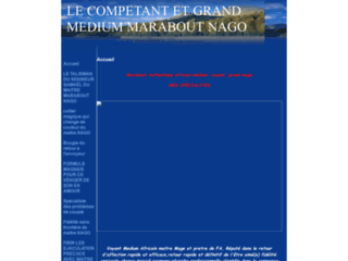 GRAND MEDIUM MARABOUT NAGO