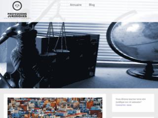 Blog sur les professions juridiques