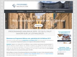 Programme Malraux : Spécialiste de la loi Malraux