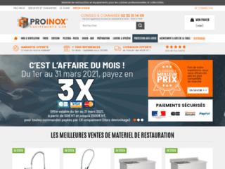 Pro Inox – matériel Chr de qualité
