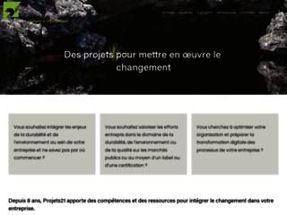Détails : Projets21 - développement durable en Suisse