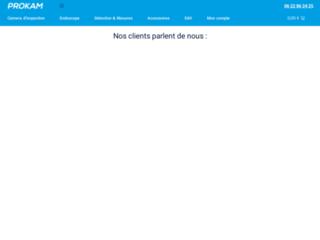 Détails : Prokam, caméra d'inspection video
