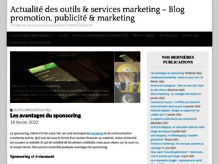 Détails : Blog promotion, publicité ; marketing