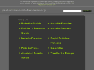 Protectionsocialefrancaise.org
