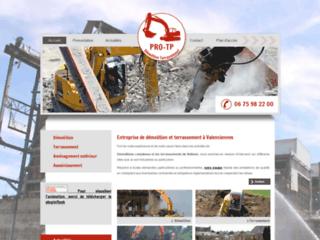 Terrassement et demolition à Valenciennes