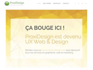 Détails : Proxidesign.be: Création de site internet à Brabant Wallon