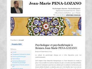 Détails : Psychologue clinicien à Rennes - J.M. PENA-LOZANO