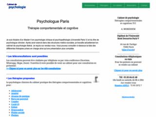 Détails : Psychologue Paris