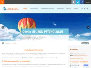 Détails : Olivier BEUZON, Psychologue à Villeurbanne