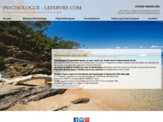 Détails : Laurent Lefebvre, psychologue à Toulon