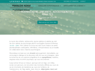 Psychologue Rennes François Adam