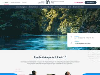 Denise Sarembaud, Psychothérapeute à Paris 10
