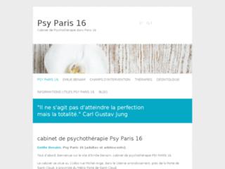 Détails : Emilie Benaim, cabinet de Psychothérapie à Paris