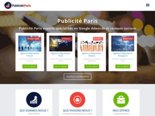 Publicité Paris, marketing et publicité en ligne à Paris