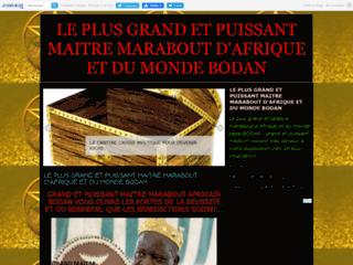 Détails : le plus grand et puissant maitre marabout d'afrique bodan